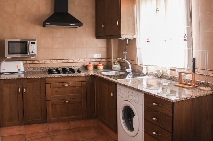 El mirador cocina apartamentos rurales alcal del j car for Cocinas rurales