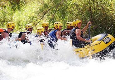 actividades alcala del jucar rafting QUE HACER