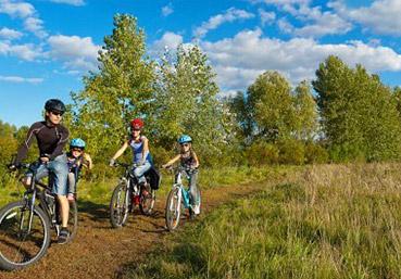actividades alcala del jucar rutas en bici btt QUE HACER