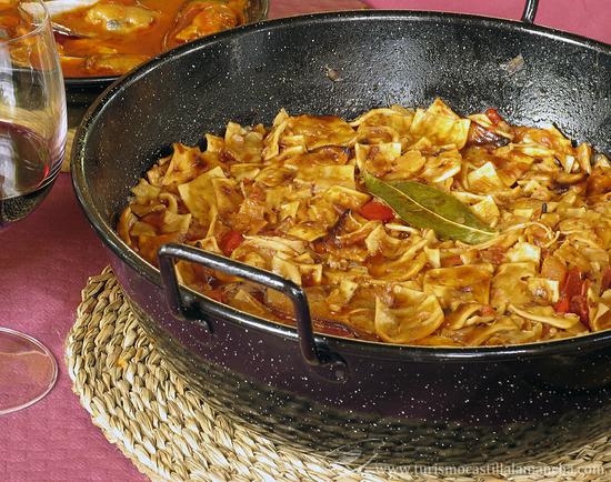 Gazpacho manchego en Alcalá del Júcar Alcalá del Júcar: ¿por dónde empezar? Su gastronomía