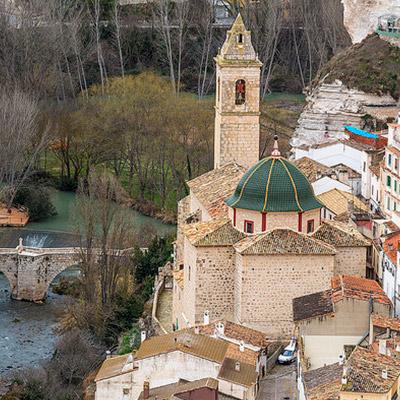 Parroquia de San Andrés en Alcalá del Júcar Alcalá del Júcar: ¿por dónde empezar? Su patrimonio histórico