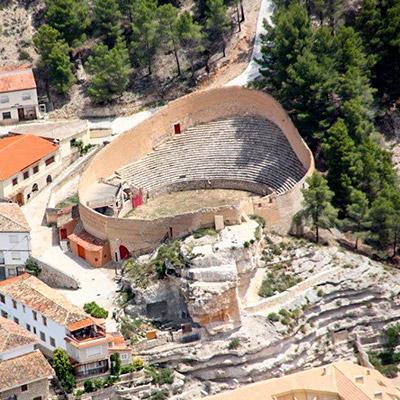 Plaza de toros en Alcalá del Júcar Alcalá del Júcar: ¿por dónde empezar? Su patrimonio histórico